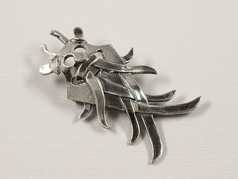 Broche, Århusmasken, sølv