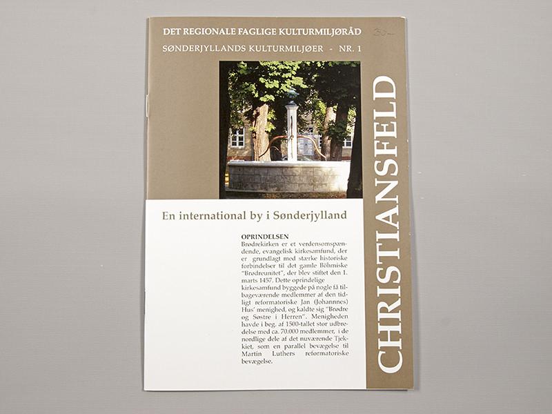 Sønderjyllands Kulturmiljøer - NR. 01