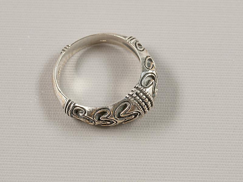 Vikingering, sølv